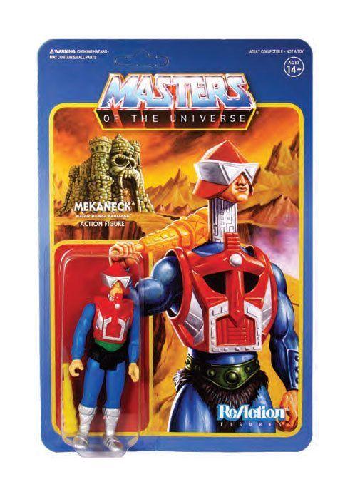Masters of the Universe ReAction Actionfigur Wave 4 Mekaneck 10 cm (KB)*