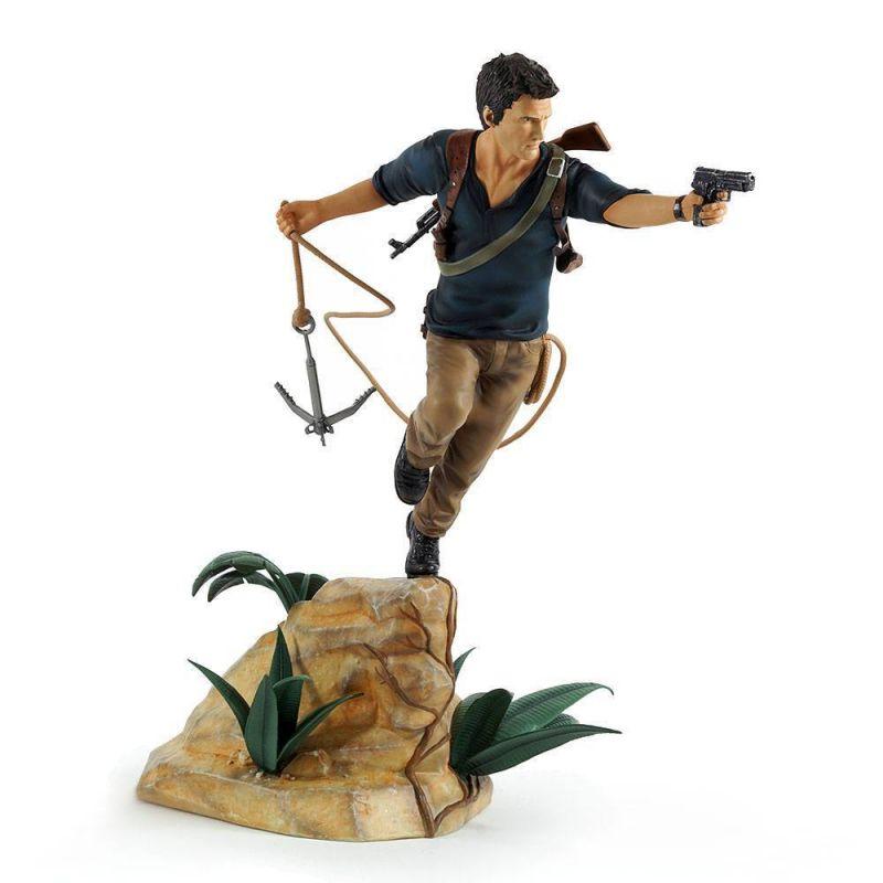 Uncharted 4 A Thief's End PVC Statue Nathan Drake 30 cm Gaya  Neu KB* 0