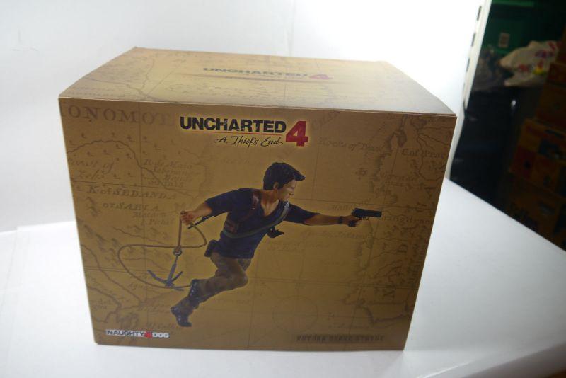 Uncharted 4 A Thief's End PVC Statue Nathan Drake 30 cm Gaya  Neu KB* 2