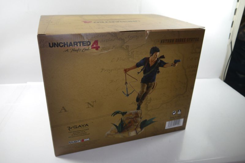 Uncharted 4 A Thief's End PVC Statue Nathan Drake 30 cm Gaya  Neu KB* 3