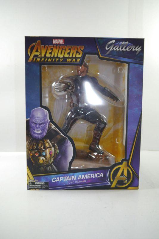 Avengers Infinity War Marvel Gallery PVC Statue Captain America 23 cm Neu (KB) * 1