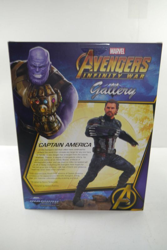 Avengers Infinity War Marvel Gallery PVC Statue Captain America 23 cm Neu (KB) * 2