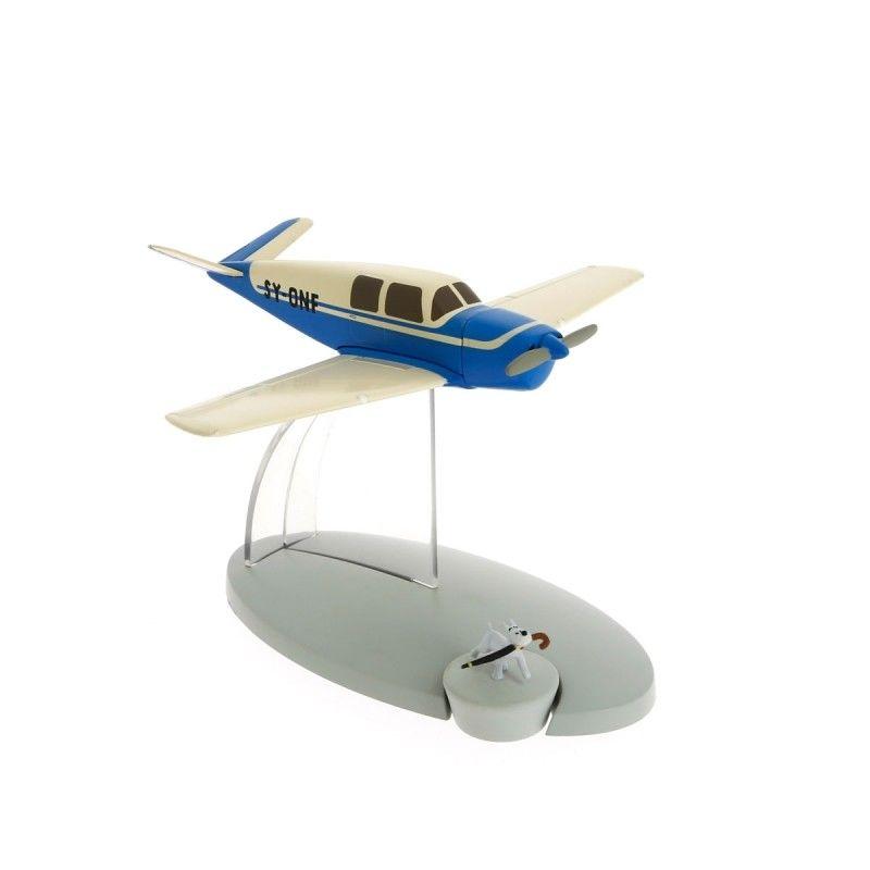TIM & STRUPPI Kidnapper SY ONE Tintin Moulinsart Flugzeugmodell 29539 Neu (L) *