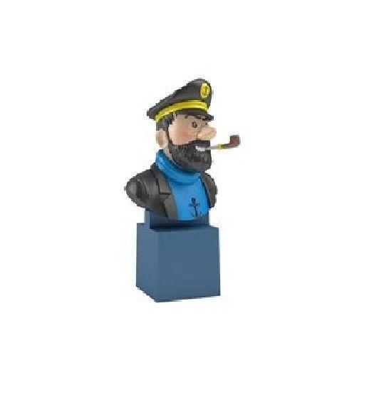 TIM & STRUPPI Tintin - Haddock PVC Büste Figur MOULINSART ca.7cm Neu (L)* 0
