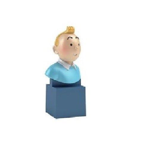 TIM & STRUPPI Tintin - Tim PVC Büste Figur MOULINSART ca.7cm Neu (L)*