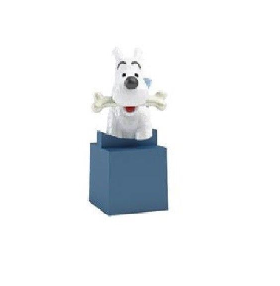TIM & STRUPPI Tintin - Struppi PVC Büste Figur MOULINSART ca.6cm Neu (L)*
