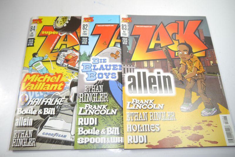 ZACK Comic Mosaik Jahrg. 2006  komplett mit Schuber   Z: sehr gut  (MF20) 2