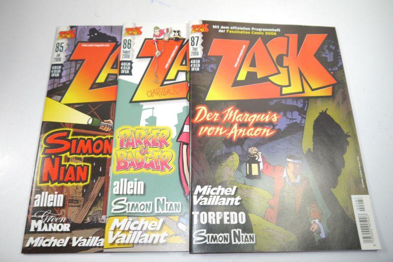 ZACK Comic Mosaik Jahrg. 2006  komplett mit Schuber   Z: sehr gut  (MF20) 3