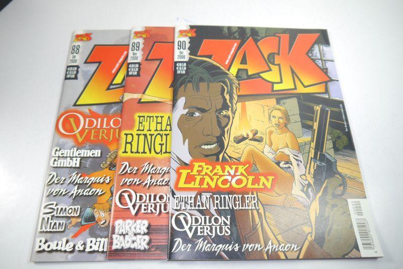 ZACK Comic Mosaik Jahrg. 2006  komplett mit Schuber   Z: sehr gut  (MF20) 4
