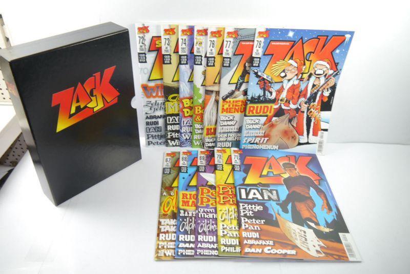 ZACK Comic Mosaik Jahrg. 2005  komplett mit Schuber   Z: sehr gut  (MF23) 1