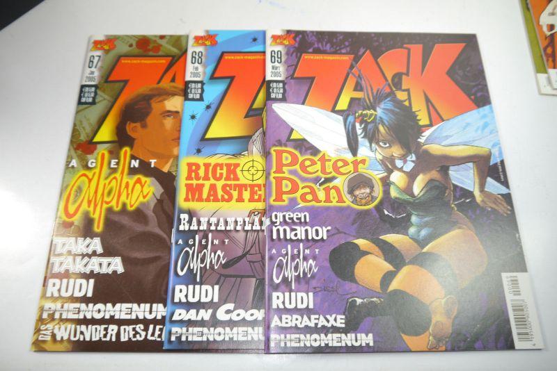 ZACK Comic Mosaik Jahrg. 2005  komplett mit Schuber   Z: sehr gut  (MF23) 2