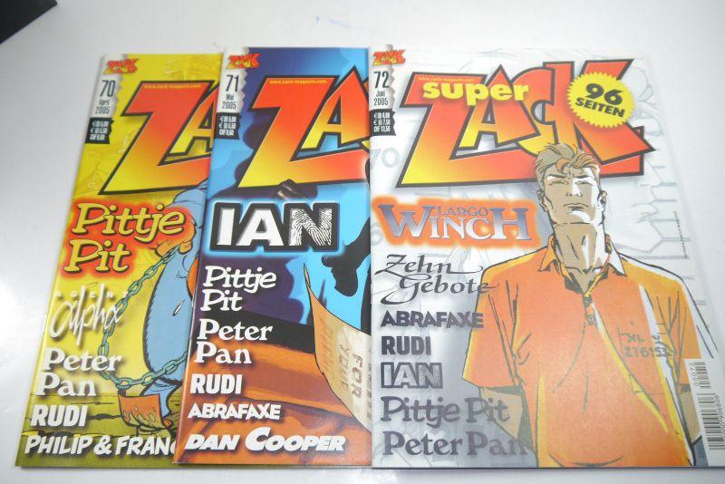 ZACK Comic Mosaik Jahrg. 2005  komplett mit Schuber   Z: sehr gut  (MF23) 3