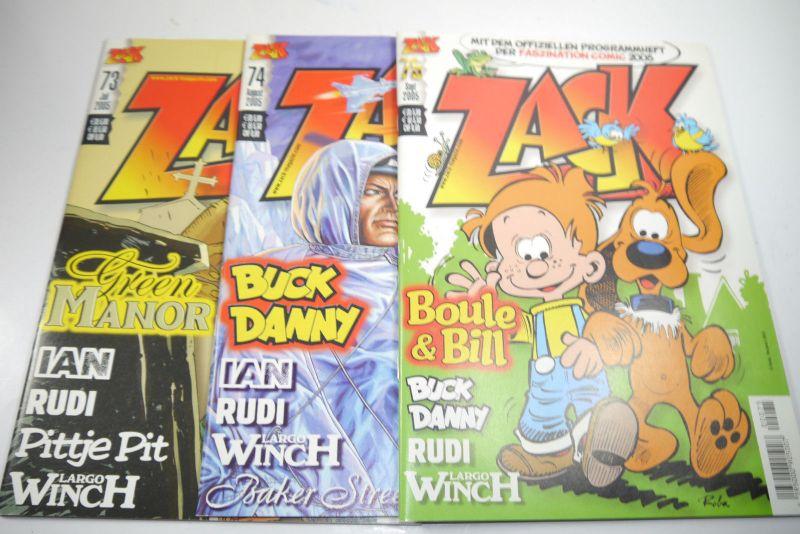 ZACK Comic Mosaik Jahrg. 2005  komplett mit Schuber   Z: sehr gut  (MF23) 4