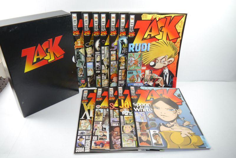 ZACK Comic Mosaik Jahrg. 2001  komplett mit Schuber   Z: sehr gut  (MF23)