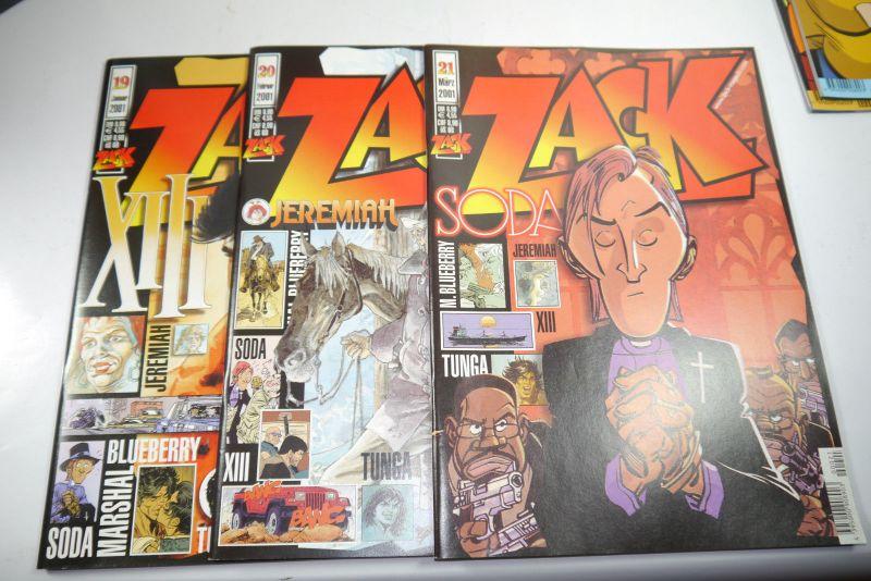 ZACK Comic Mosaik Jahrg. 2001  komplett mit Schuber   Z: sehr gut  (MF23) 1