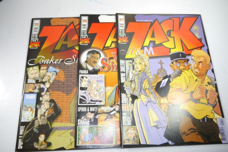 ZACK Comic Mosaik Jahrg. 2001  komplett mit Schuber   Z: sehr gut  (MF23) 3