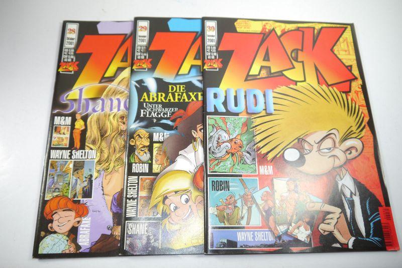 ZACK Comic Mosaik Jahrg. 2001  komplett mit Schuber   Z: sehr gut  (MF23) 4