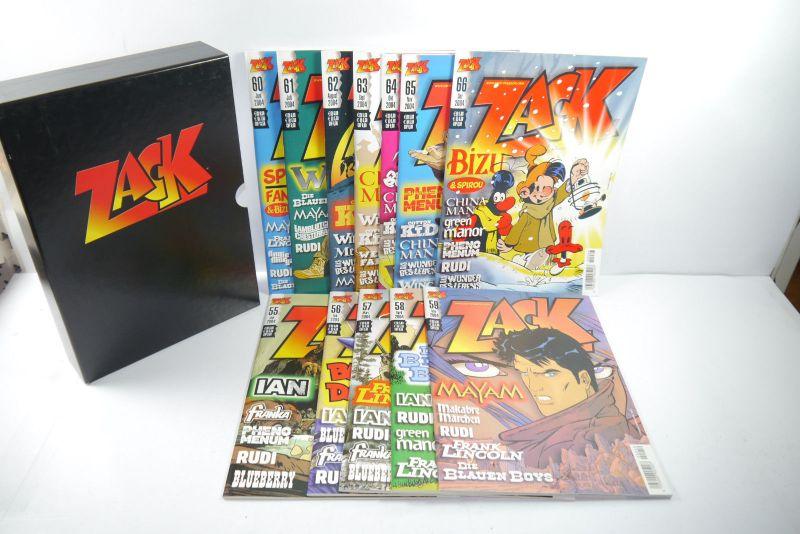 ZACK Comic Mosaik Jahrg. 2004 komplett mit Schuber   Z: sehr gut  (MF23)