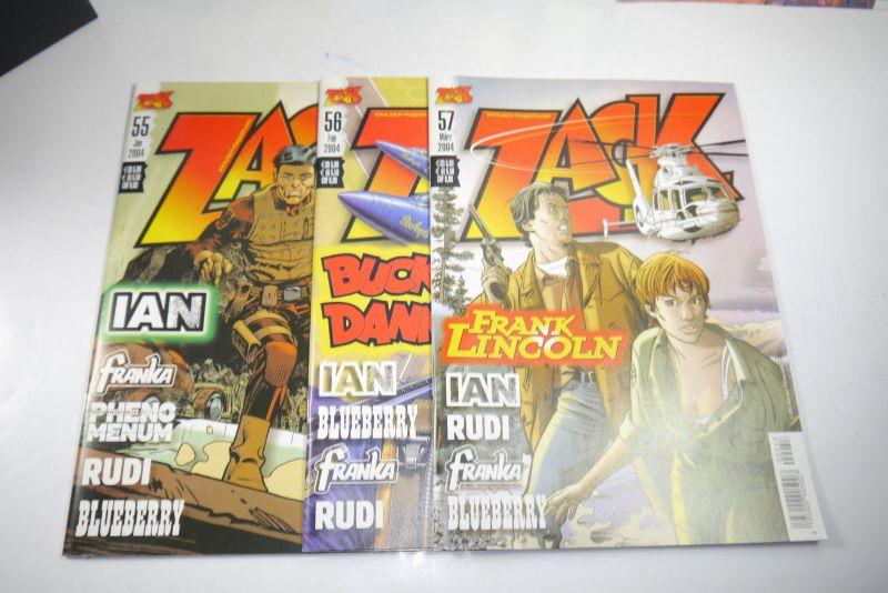 ZACK Comic Mosaik Jahrg. 2004 komplett mit Schuber   Z: sehr gut  (MF23) 1