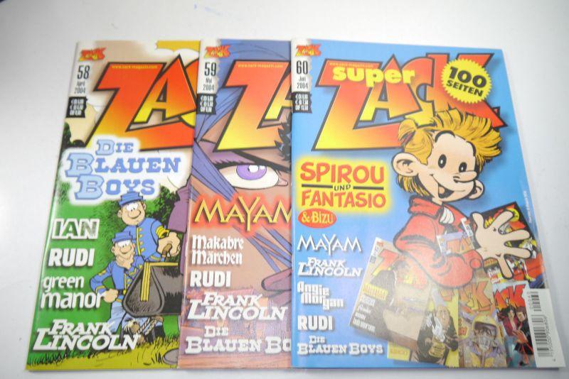 ZACK Comic Mosaik Jahrg. 2004 komplett mit Schuber   Z: sehr gut  (MF23) 2