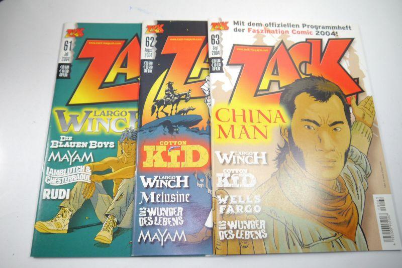 ZACK Comic Mosaik Jahrg. 2004 komplett mit Schuber   Z: sehr gut  (MF23) 3