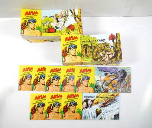AKIM Sohn des Dschungels : 69 Hefte ( 2. Piccolo Serie ) Nachdruck HETHKE (K23)