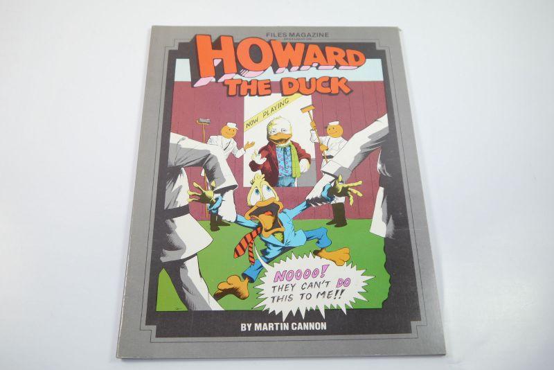 Howard the Duck   File Magazine Spotlight on 1986 SC   Z  : 2     (WR2)