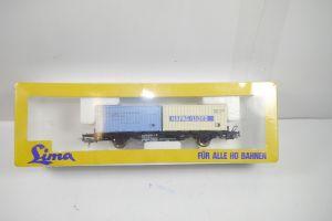 LIMA 2855 Containerwagon Hapag Lloyd Modelleisenbahn Spur H0 Neu / OVP (K10)