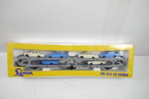 Lima Autotransportwagen Wagon 9050  Spur H0 Modelleisenbahn Neu / OVP  (K10)