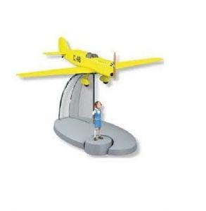 TIM & STRUPPI C48 Prototyp Jo Jette Jocko Tintin Moulinsart Flugzeug 29566 *