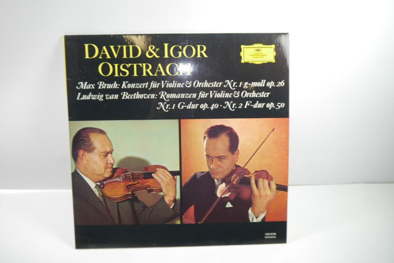 David & Igor Oistrach Max Bruch Ludwig van Beethoven Stereo Schallplatte ( WR2 ) 0