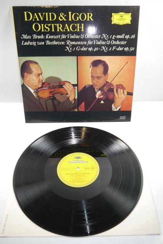 David & Igor Oistrach Max Bruch Ludwig van Beethoven Stereo Schallplatte ( WR2 ) 2