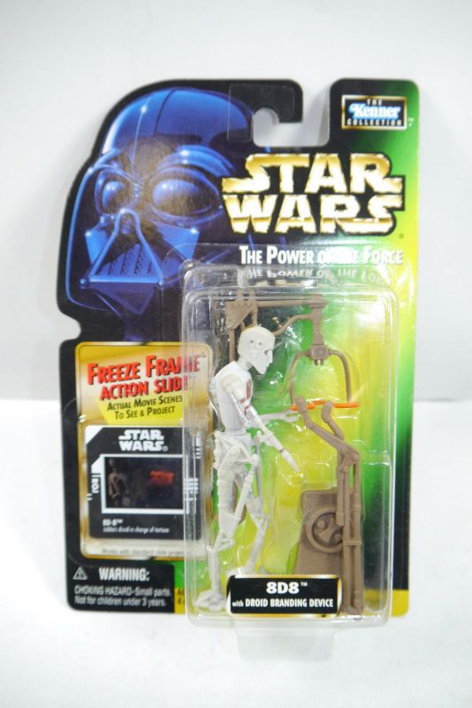 STAR WARS Power of the Force 8D8 Droid Branding Device  KENNER Neu  (LR21)