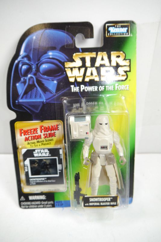 STAR WARS Power of the Force Snowtrooper  Kenner Neu  (LR21)