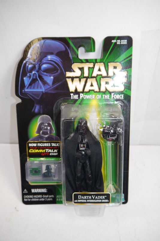 STAR WARS Power of the Force Darth Vader Imperial Droid   Hasbro Neu  (LR21)