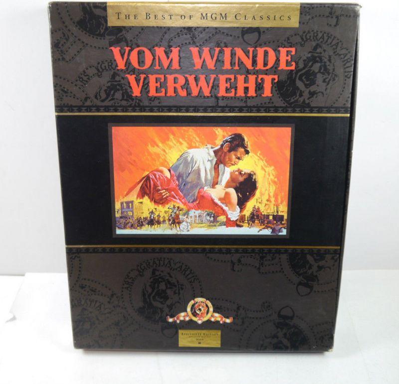 VOM WINDE VERWEHT Best of MGM Classics - 3 VHS Kassetten Set LIMITIERT (MF14)