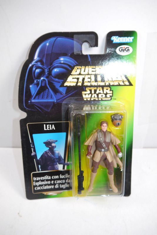 STAR WARS Power of the Force Leia   Hasbro Neu  (LR21)