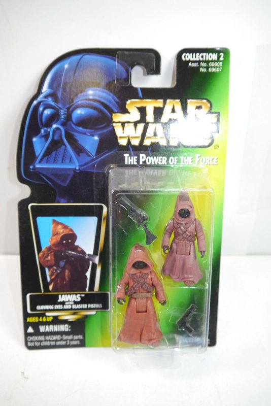 STAR WARS Power of the Force Jawas  KENNER Neu  (LR18)