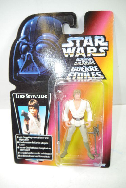 STAR WARS Power of the Force - Luke Skywalker Actionfigur KENNER Neu (LR7)