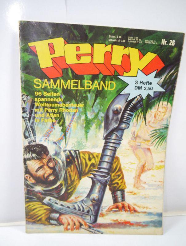 PERRY Rhodan Sammelband Heft 26 Comic MOEWIG VERLAG (MF13)