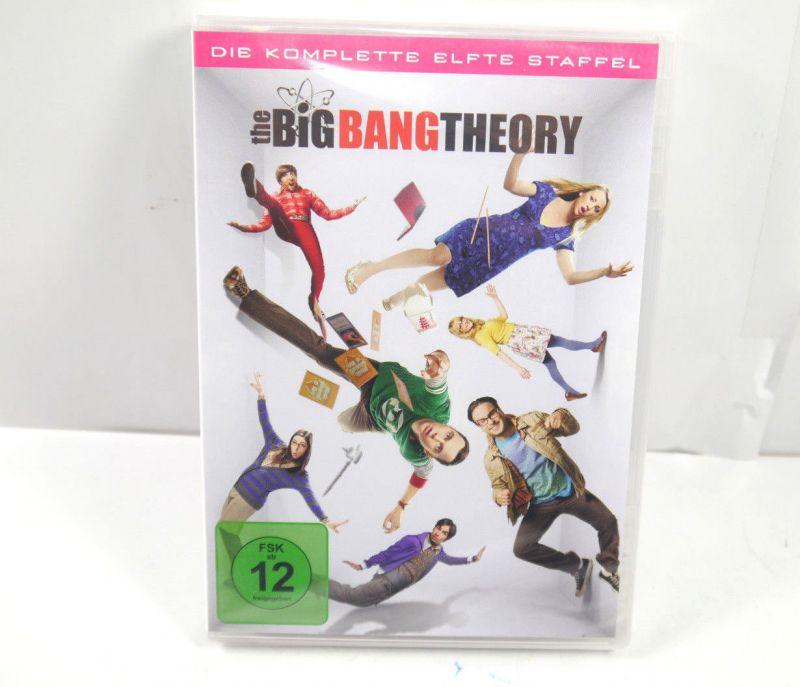 THE BIG BANG THEORY Die komplette 11. Staffel ( 2 Discs ) DVD Neu (WR4)