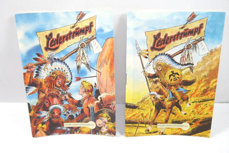 LEDERSTRUMPF - Nr. 3 & 4 Comic Piccolo Nachdruck Kolibri Verlag (K35)