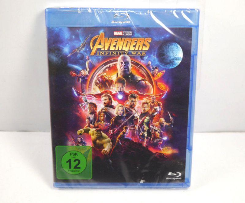 Marvel AVENGERS Infintiy War Bu-ray / Robert Downey Jr. Benedict Cumberbatch WR4