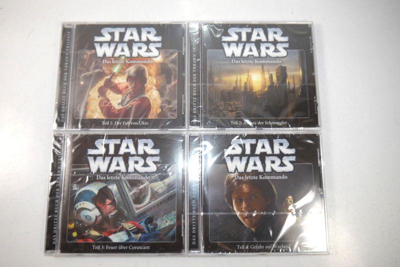 STAR WARS Das letzte Kommando - Teil 1 2 3 4  CD Hörspiel IMAGA Audio Neu (KB)