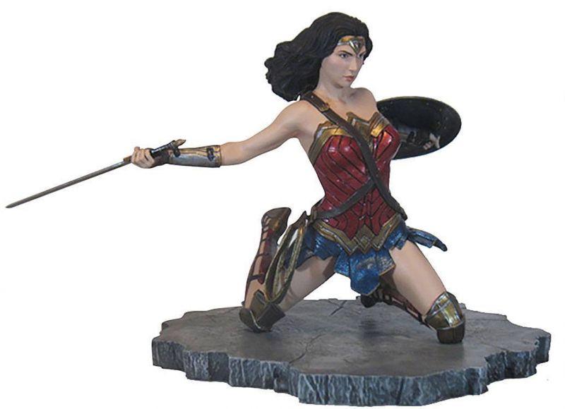 JUSTICE LEAGUE  Movie DC Gallery PVC Statue Wonder Woman 18 cm Neu (L)*