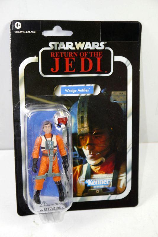 STAR WARS Return of the Jedi - VC28 Wedge Antilles VINTAGE Hasbro Neu (LR30)
