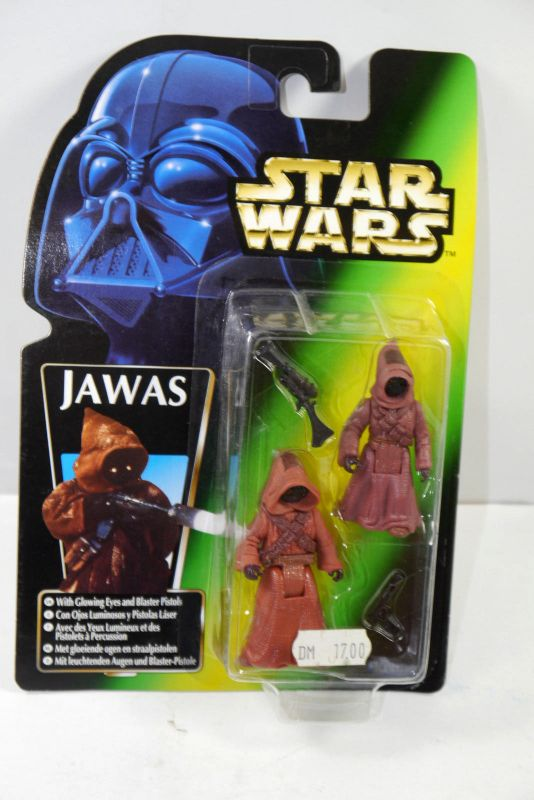 STAR WARS Power of the Force - Jawas Actionfigur Set KENNER Neu (LR30)