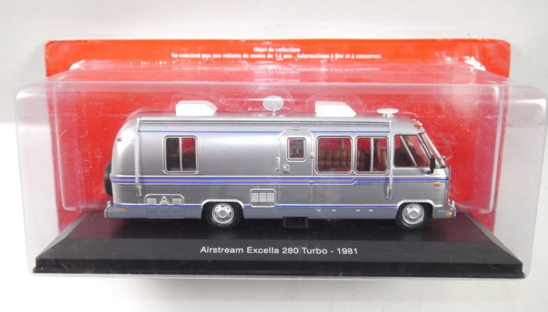 HACHETTE COLLECTION Airstream Excella 280 Turbo ( 1981 ) 1:43 (KB)