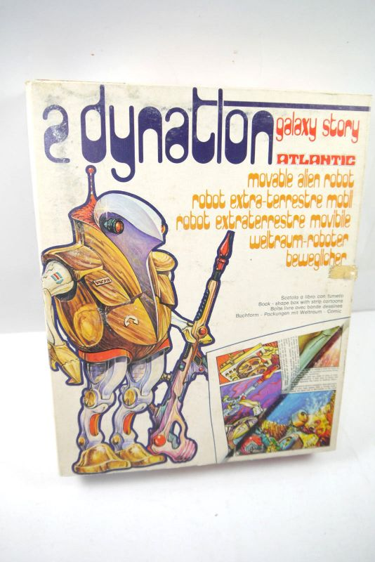 GALAXY STORY Atlantic - 2er Set Dynatlon Actionfigur Bausatz model kit (K92)