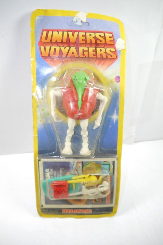 UNIVERSE VOYAGERS Mizar Space Droid Actionfigur / weiß rot Atlantic Neu (K92) #C